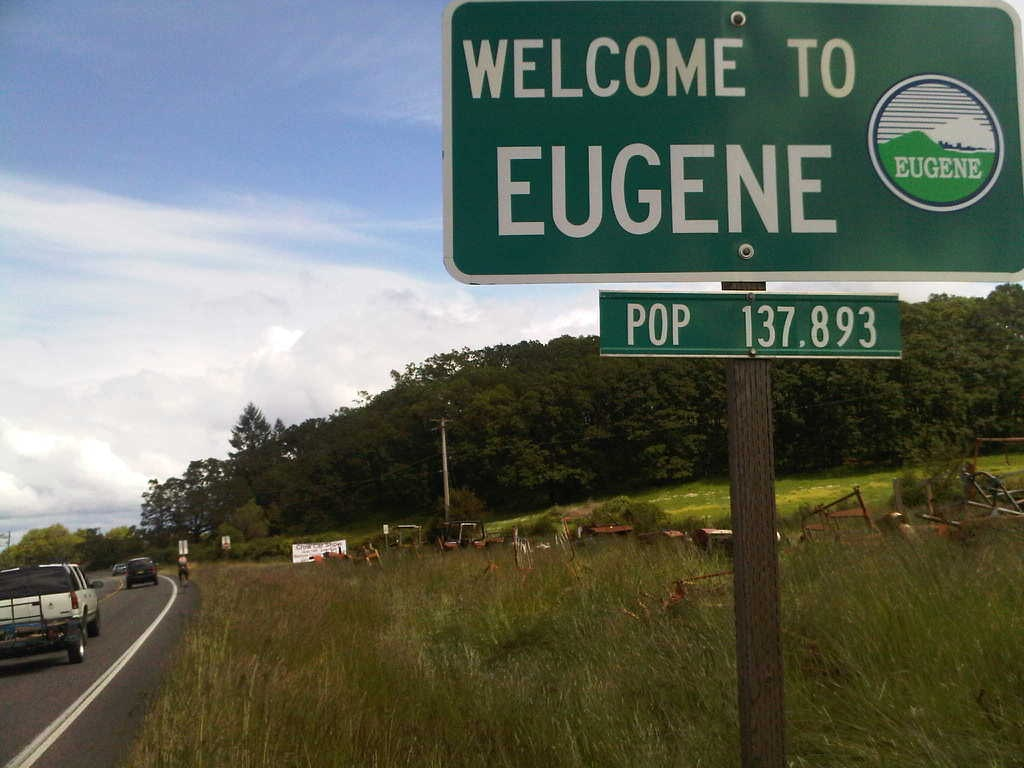 how to get to eugene oregon