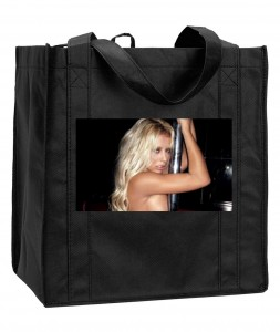 Promotional reusable shopping bag