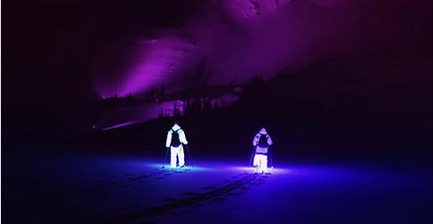 These Guys Went Skiing In The Pitch Dark Wearing LED Suits. What Followed Is Epic (Video)