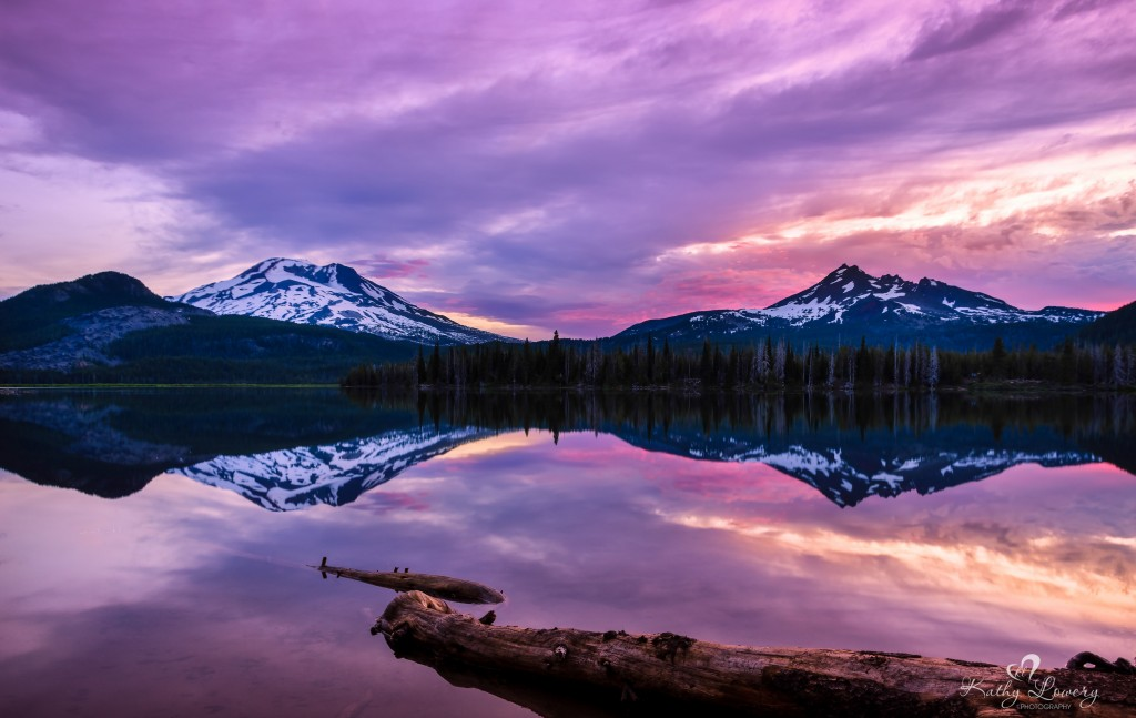 Sparks Lake Copyright Kathy Lowery