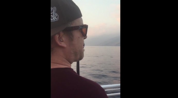 Watch: He sang Bob Marley on a boat, you won't believe what happens next