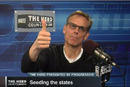 Colin Cowherd Says He Loves Oregon For It's Wonderful Mostly White People