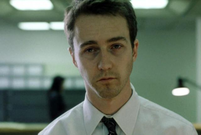 'fight club uses cinematic means to