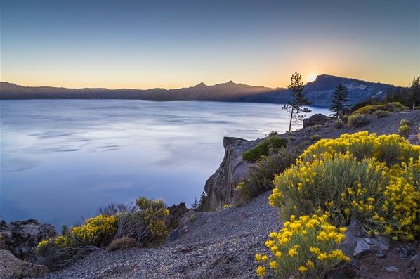 Crater Lake. Copyright James Parsons of Extreme Oregon.