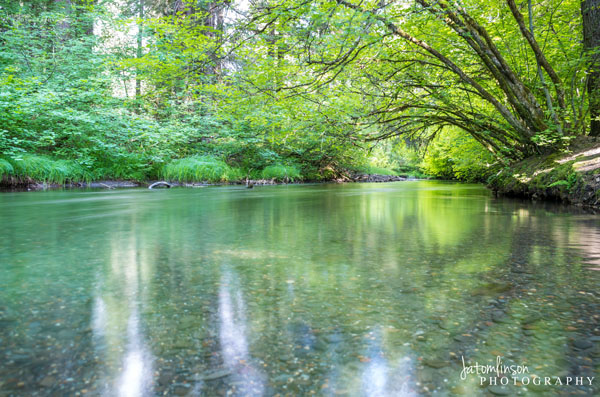 Union Creek. Copyright Jessica Tomlinson of JATomlinson Photography