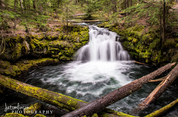 Whitehorse Falls. Copyright Jessica Tomlinson of JATomlinson Photography