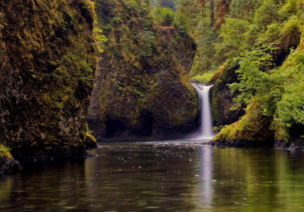 Gary Thurman - Punch Bowl Falls from Eagle Creek