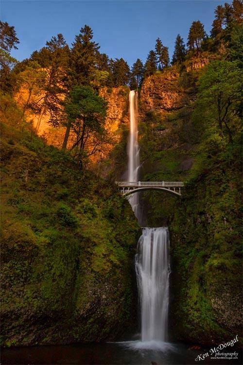 Ken McDougal - multnomah falls