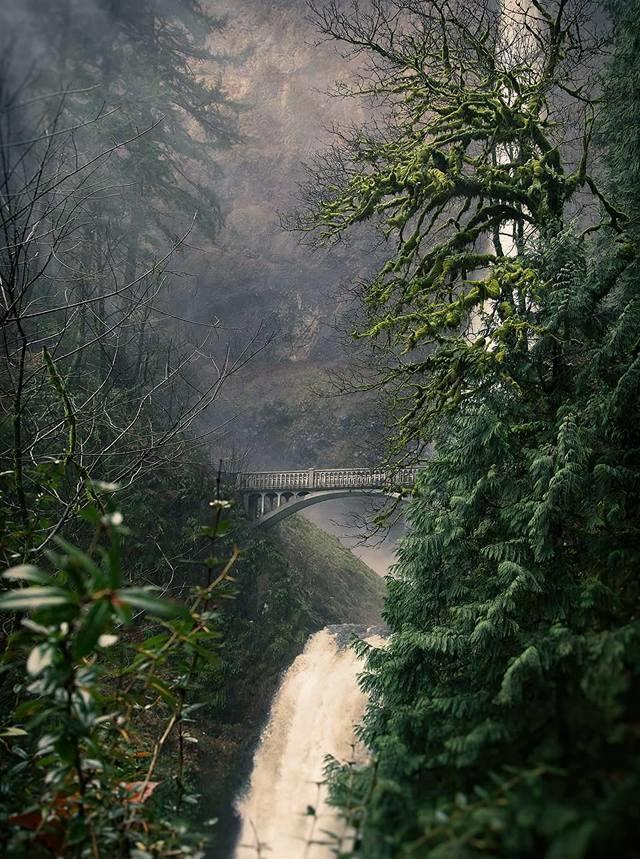 multnomah falls haunted pacific northwest trails