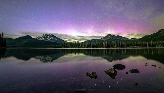 See The Incredible Northern Lights Display From Oregon This Weekend!
