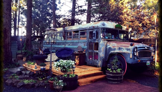 This Couple In Bend Converted Their Bus Into A Tiny Home, And Their Story Is Awesome