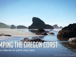 camping in the oregon coast