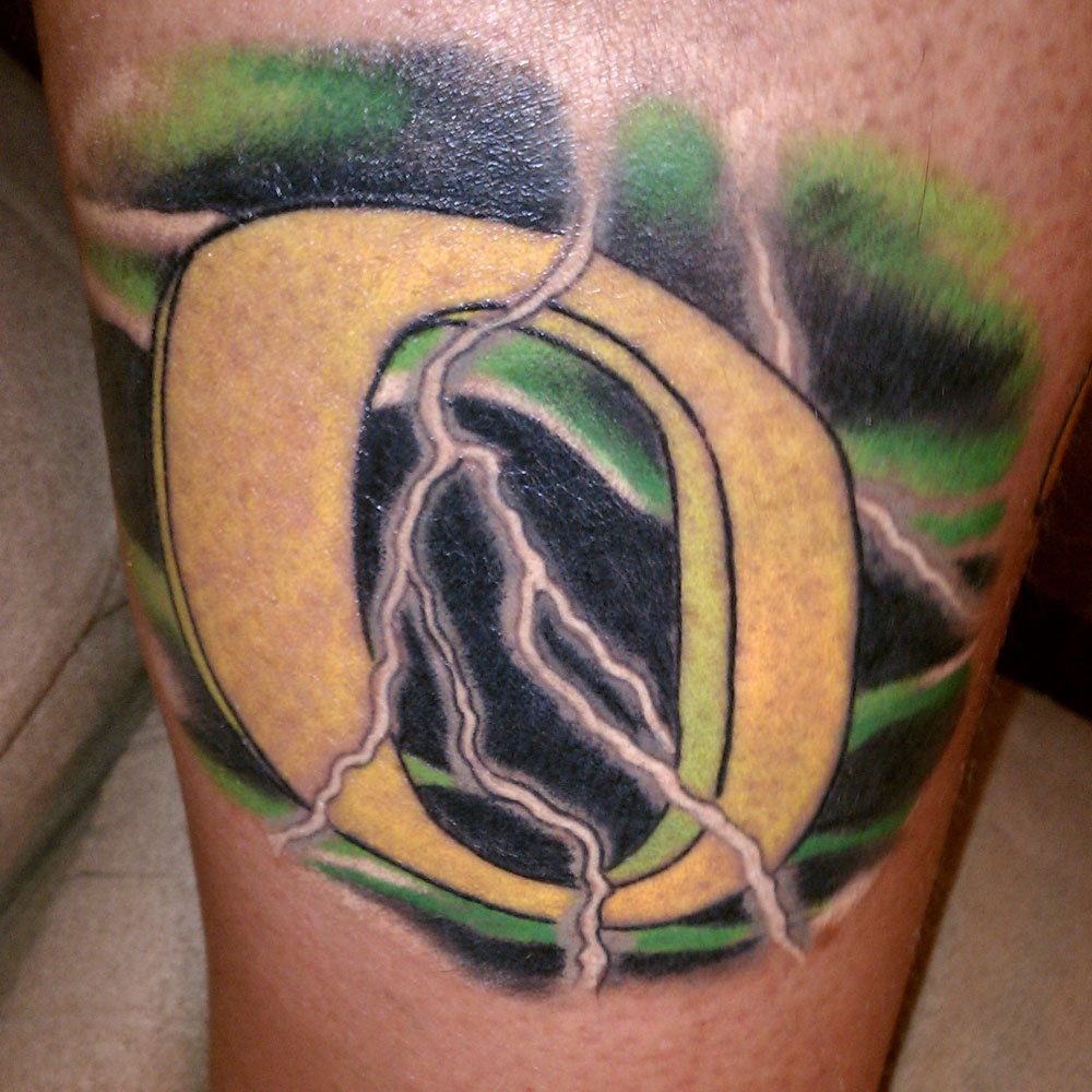 oregon duck tattoo 01 that oregon life