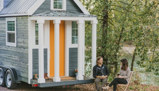 This Tiny Home On Wheels in Oregon City is Perfect