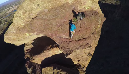 Video: Jump Off Monkey Face Rock Will Make Your Stomach Drop