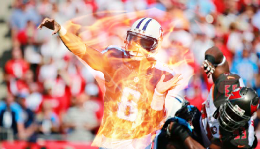 Mariota's performance so hot he literally burst into flames