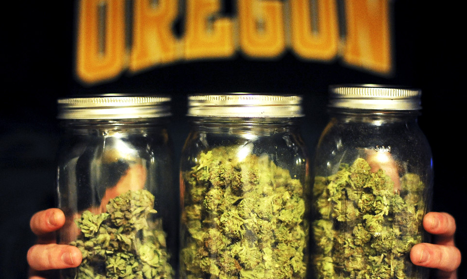 Marijuana culture is prevalent on the University of Oregon campus as well as throughout the entire city of Eugene. The state of Oregon is one of the largest producers of weed in the nation. (Alex McDougall/Oregon Daily Emerald)
