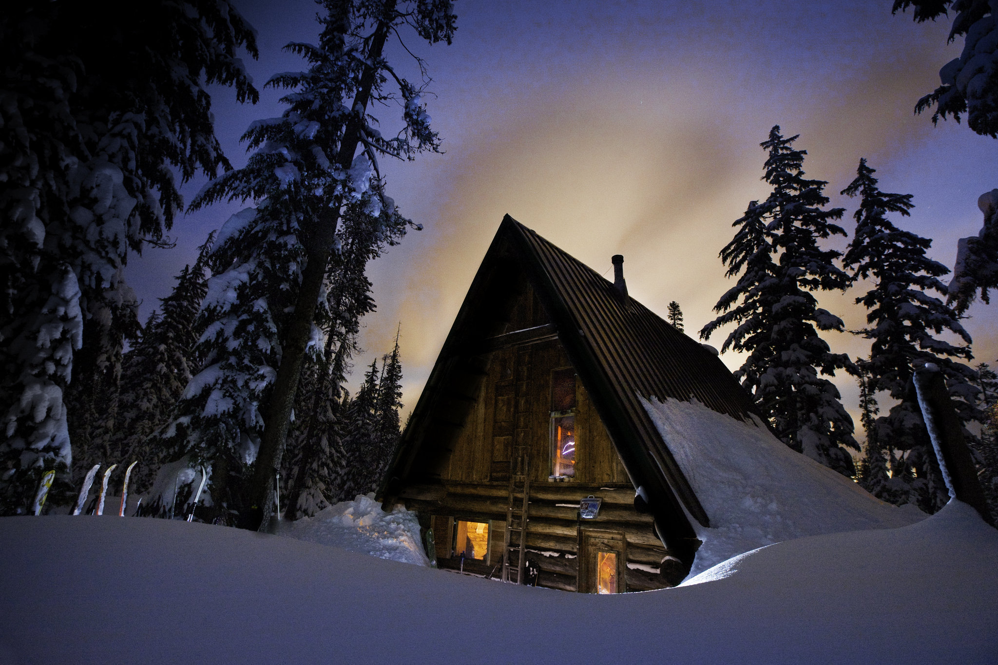 10 cozy snowy cabins in oregon you 39 re going to love that for Ski cottage
