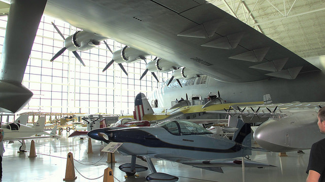 Evergreen Aviation And Space Museum By Ed Blerman via flickr