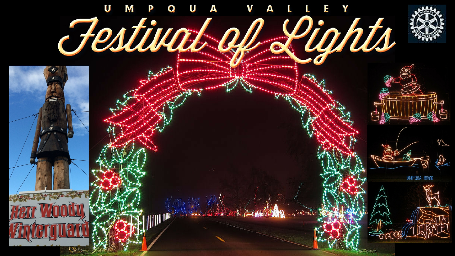 10. Festival Of Lights At Riverforks Park
