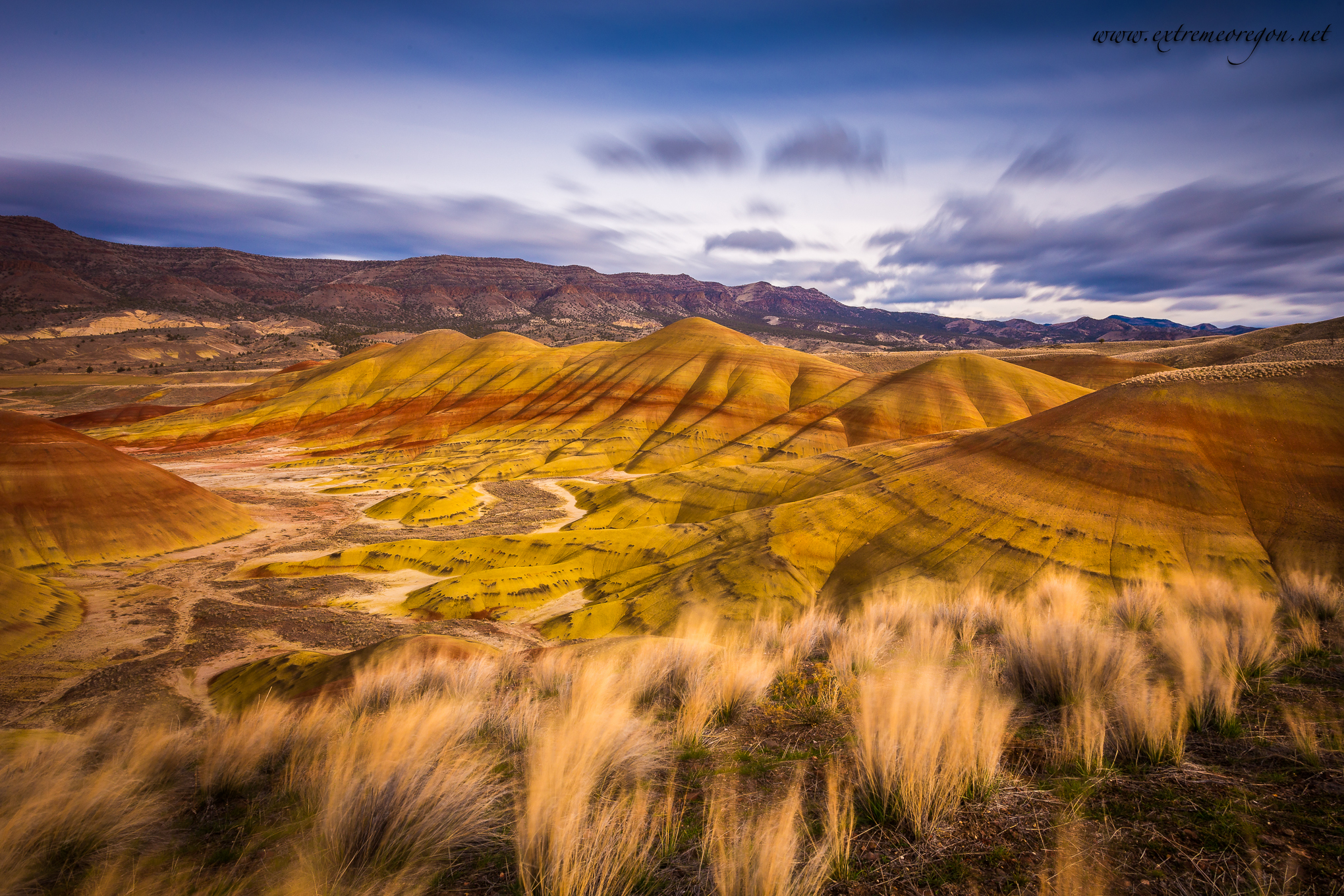 Painted Hills Extreme Oregon
