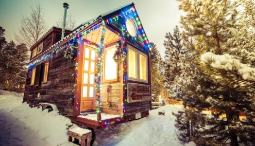 A Merry Little Christmas From a Tiny House Giant Journey