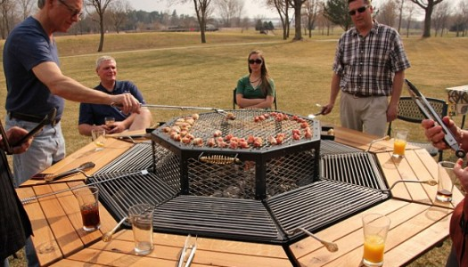 The Jag Grill Includes a Picnic Table, And Will Forever Change How You BBQ