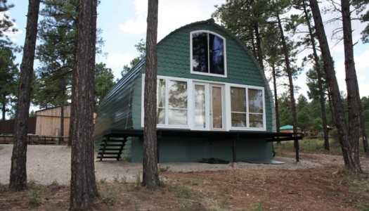 Arched Cabins Will Deliver You a Warm Home For Under $5000
