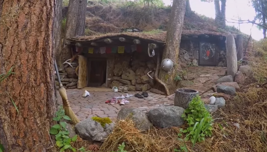 Man's Real-Life Hobbit House Looks Like It Came From The Shire
