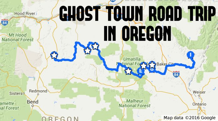 This Ghost Town Road Trip In Oregon Is The Perfect Adventure