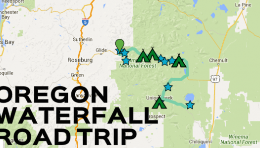 This Southern Oregon Waterfall Road Trip is The Perfect Getaway