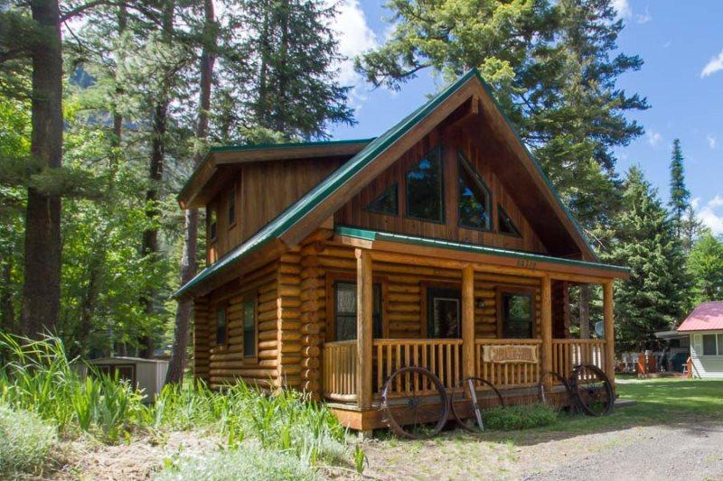 wallowa lake cabin