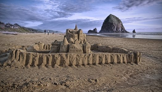 The Cannon Beach Sandcastle Contest is Happening in June