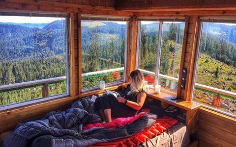 Spend the Night in the Sky: 6 Fire Lookout Rentals in Oregon