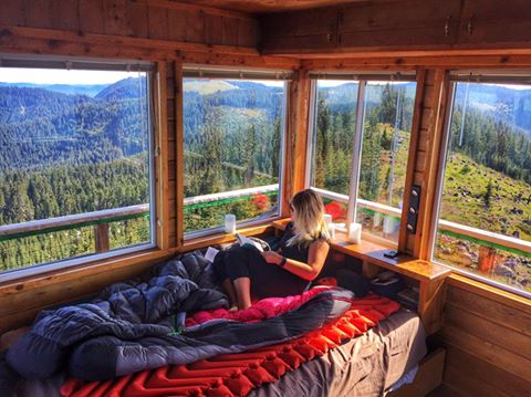 Spend The Night In The Sky 12 Fire Lookout Rentals In