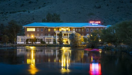 Oregon's Hot Lake Hotel is Said To Be Extremely Haunted