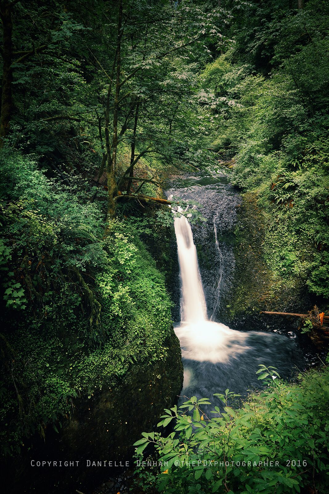 Middle Oneonta Falls