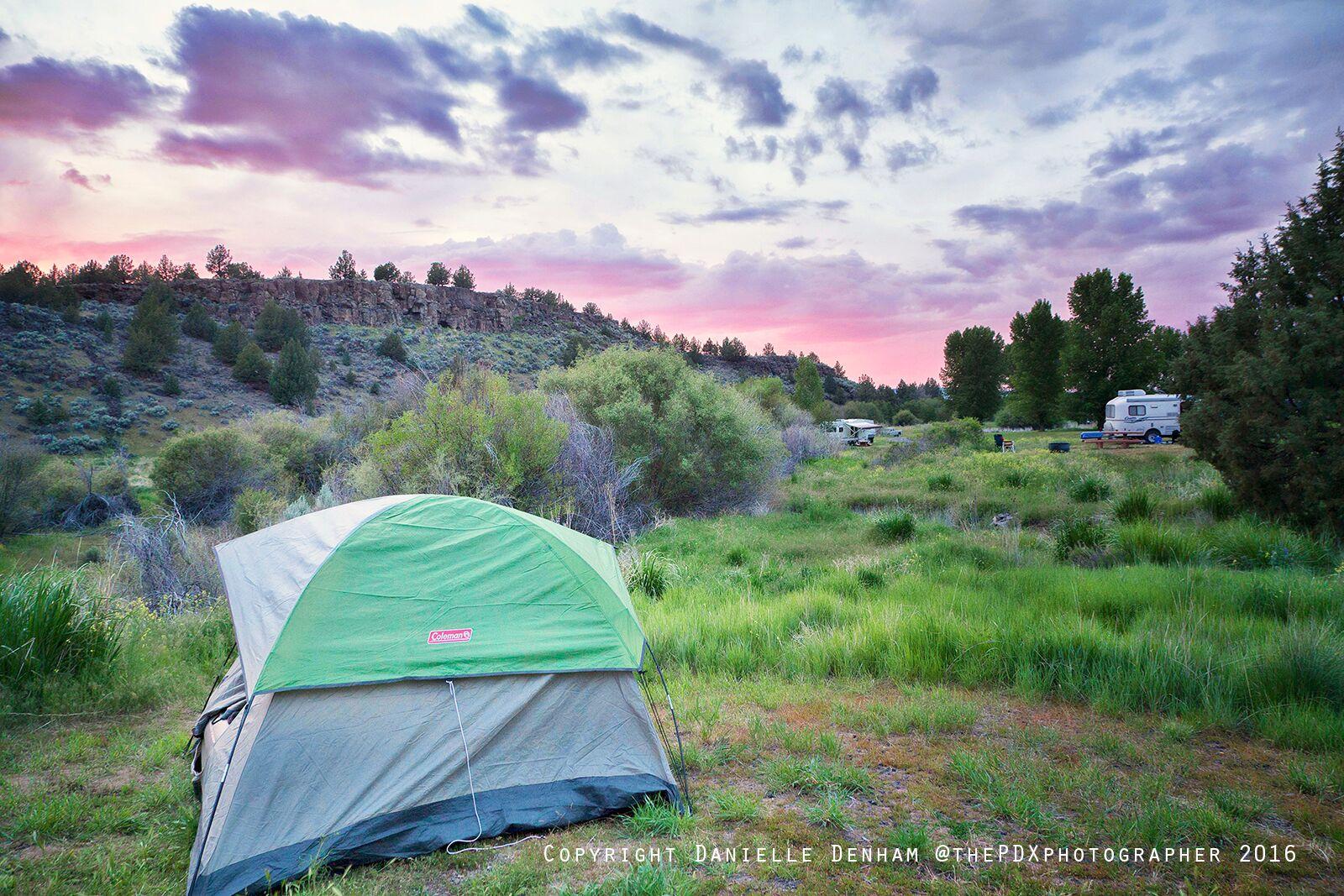 camping oregon