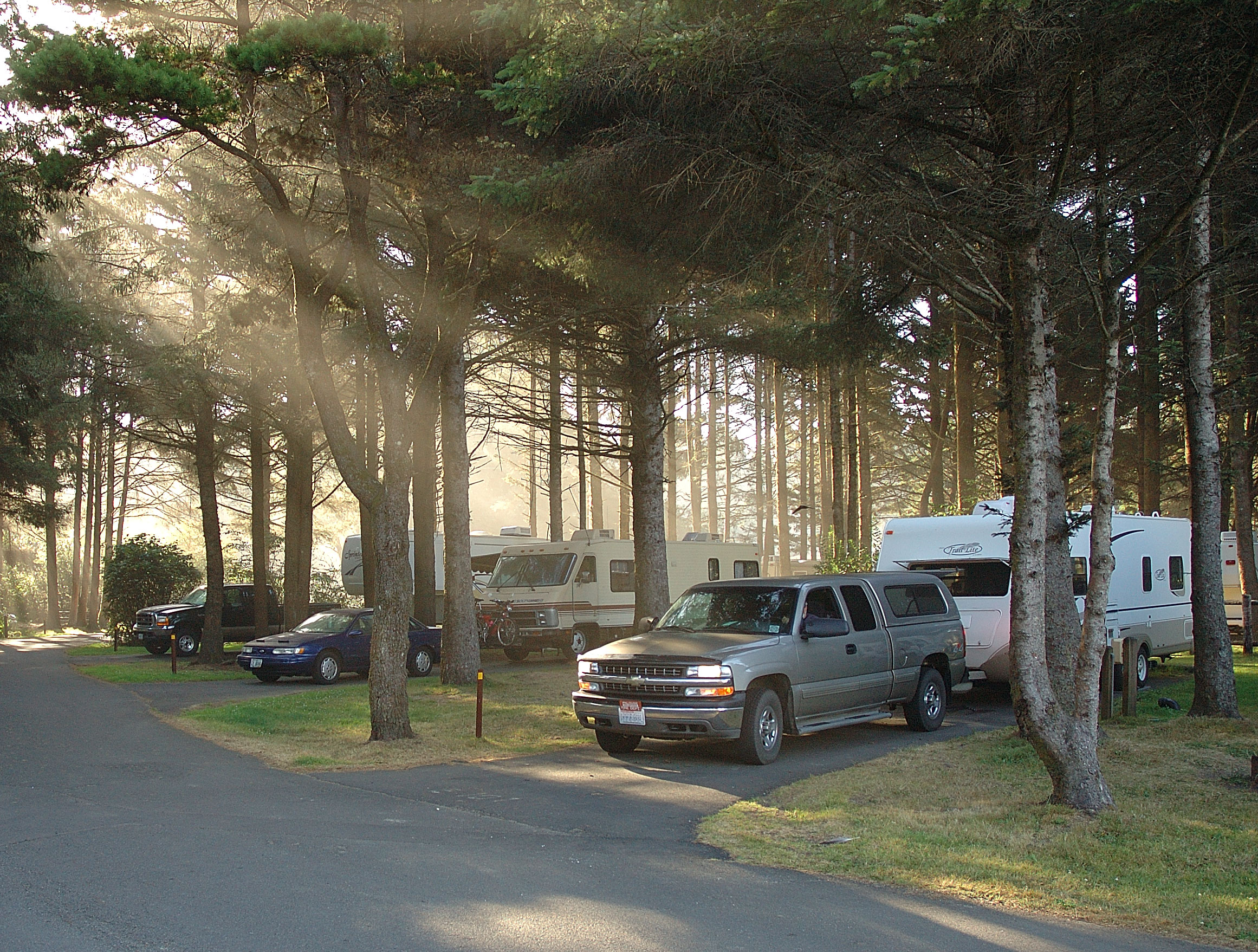 6 Great Oregon Coast Campsites With Ocean Views That Life Goza S Wanderings And Wonderings Moving Day To South Beach State Park
