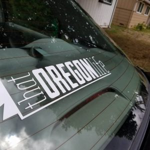That Oregon Life Decal