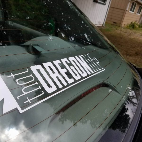 That Oregon Life Decal