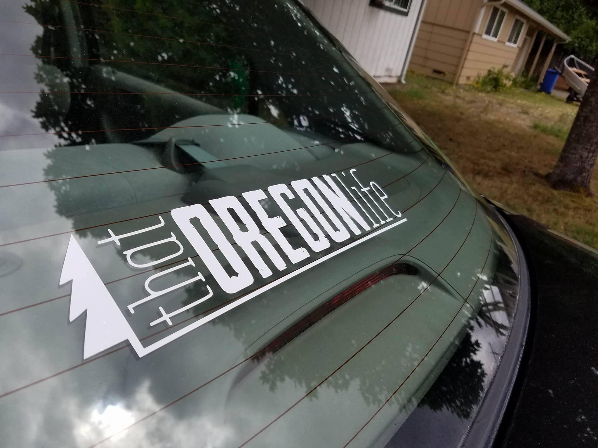 Oregon stickers