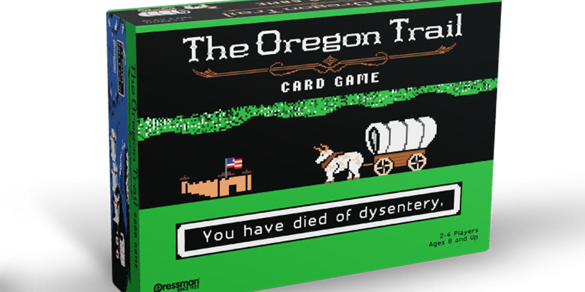 the oregon trail With rod taylor, andrew stevens, tony becker, gina smika hunter in 1842, a widower leaves his illinois farm and heads west towards oregon with his.