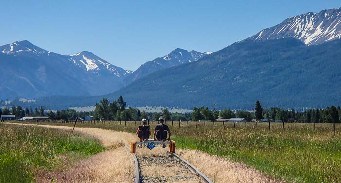 This Pedal Powered Rail Ride In Oregon Is Simply Awesome