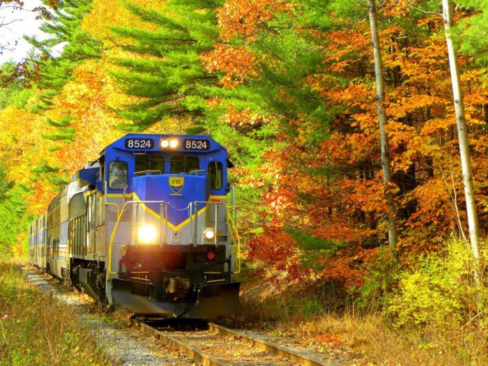 railroad excursion oregon