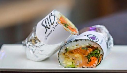This sushi burrito food cart in Eugene will make your mouth water