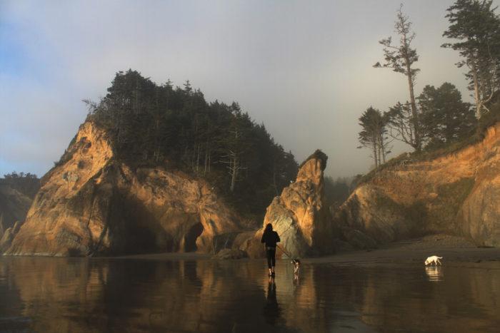 Hug Point Oregon