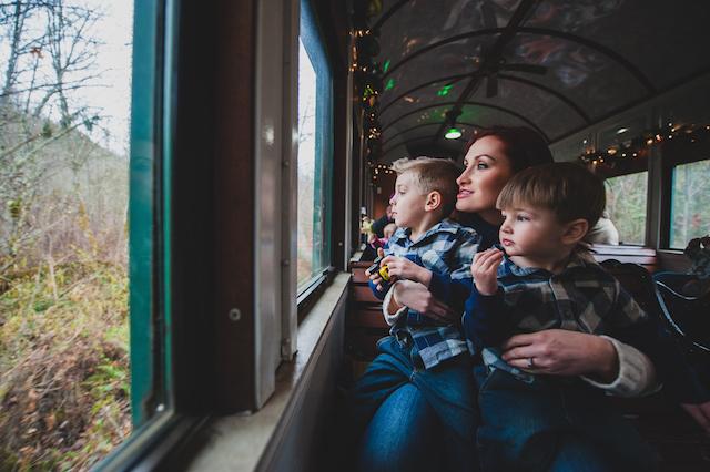photo: Mt. Rainier Scenic Railroad