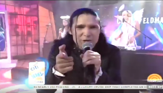 Corey Feldman's bizarre performance on Today Show left me confused