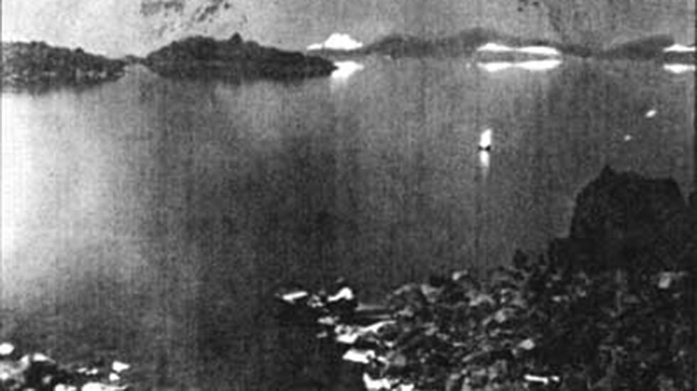 Joseph Diller spotted the 'Old Man of the Lake' for the first time over 100 years ago. (NPS.gov)